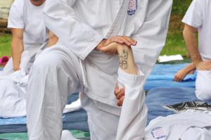 stretching dei meridiani shiatsu